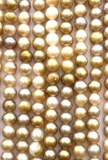 """6mm Pearls w/2mm ID Hole, Maize 15"""" st approx."""