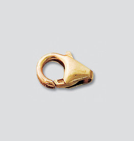 11mm Trigger Clasp 14k Gold FIlled Qty 4