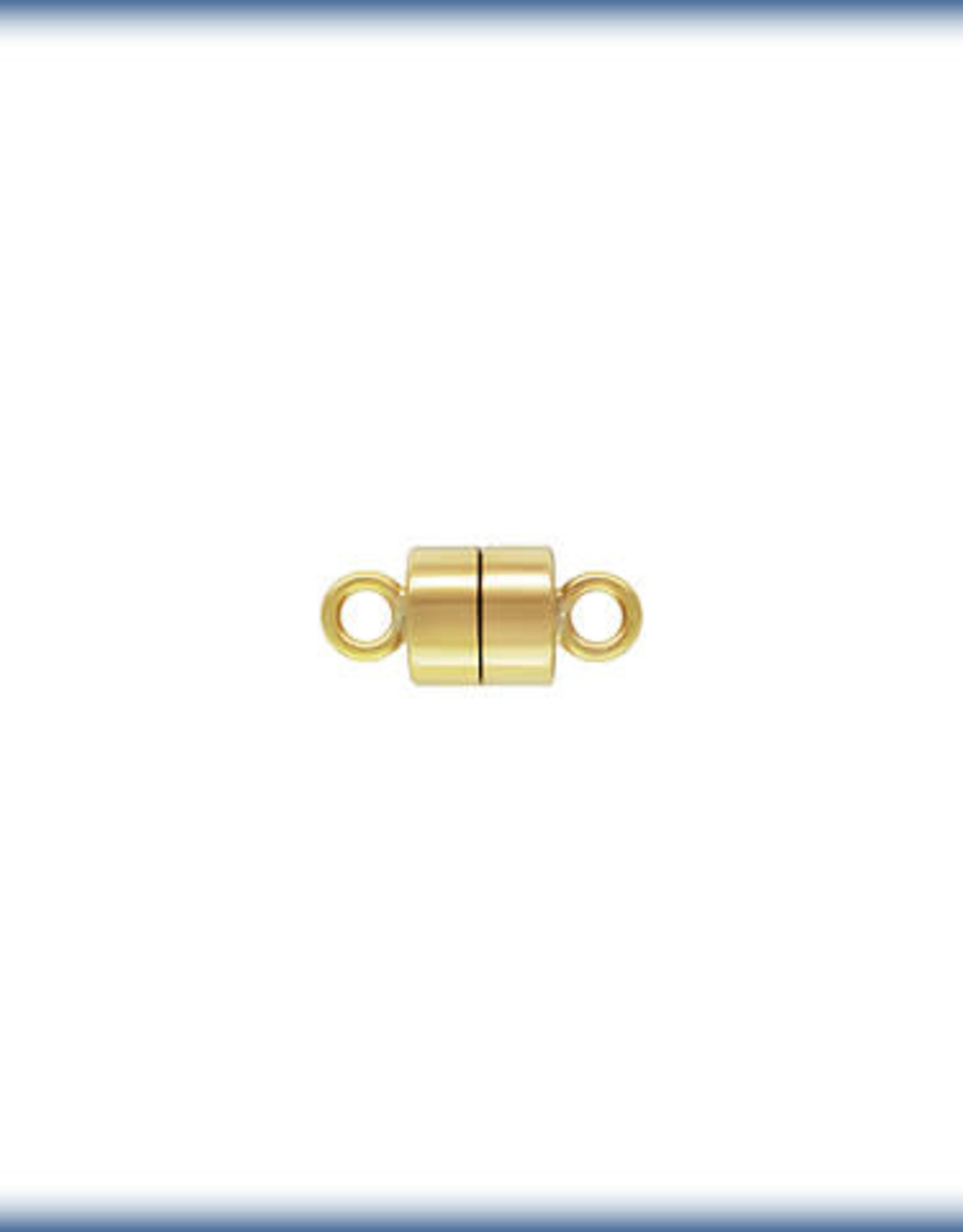 4.5mm Mag Clasp, 14k Gold Filled Qty 2