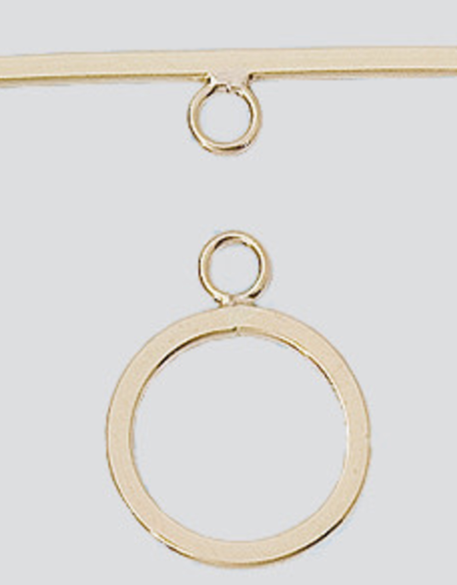 14.5mm Toggle Clasp 14k Gold Filled ea