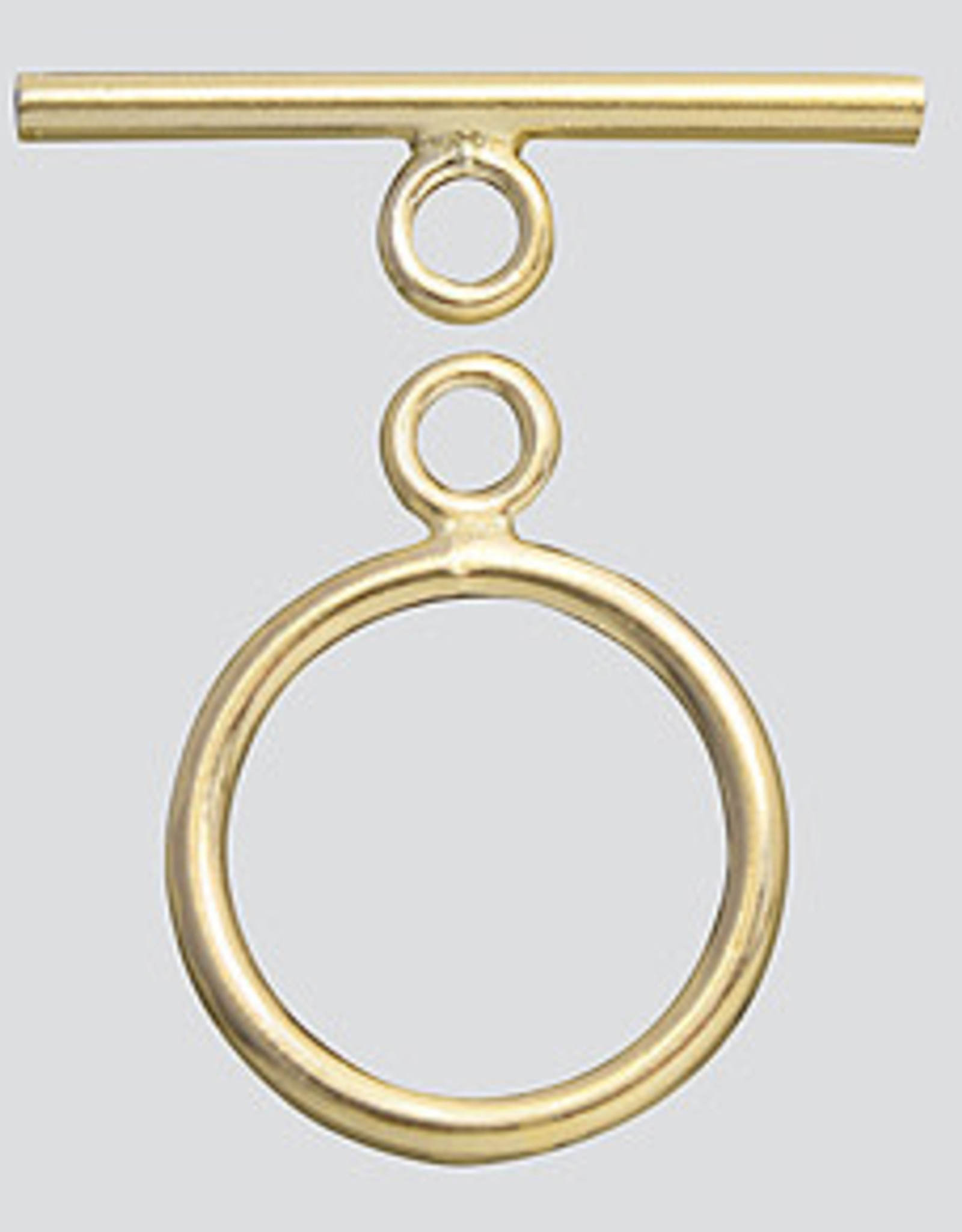 11mm Toggle Clasp 14k Gold Filled ea