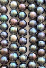 "10mm Peacock Pearls w/2mm ID Holes 16"" Str"