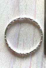 25mm Hoop Sterling Silver ea