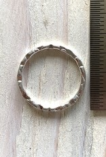 20mm Hoop Sterling Silver ea