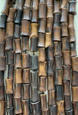 Bamboo Coffee Bone Bead Strands