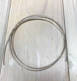 12ga Round Wire Sterling Silver 1oz DS