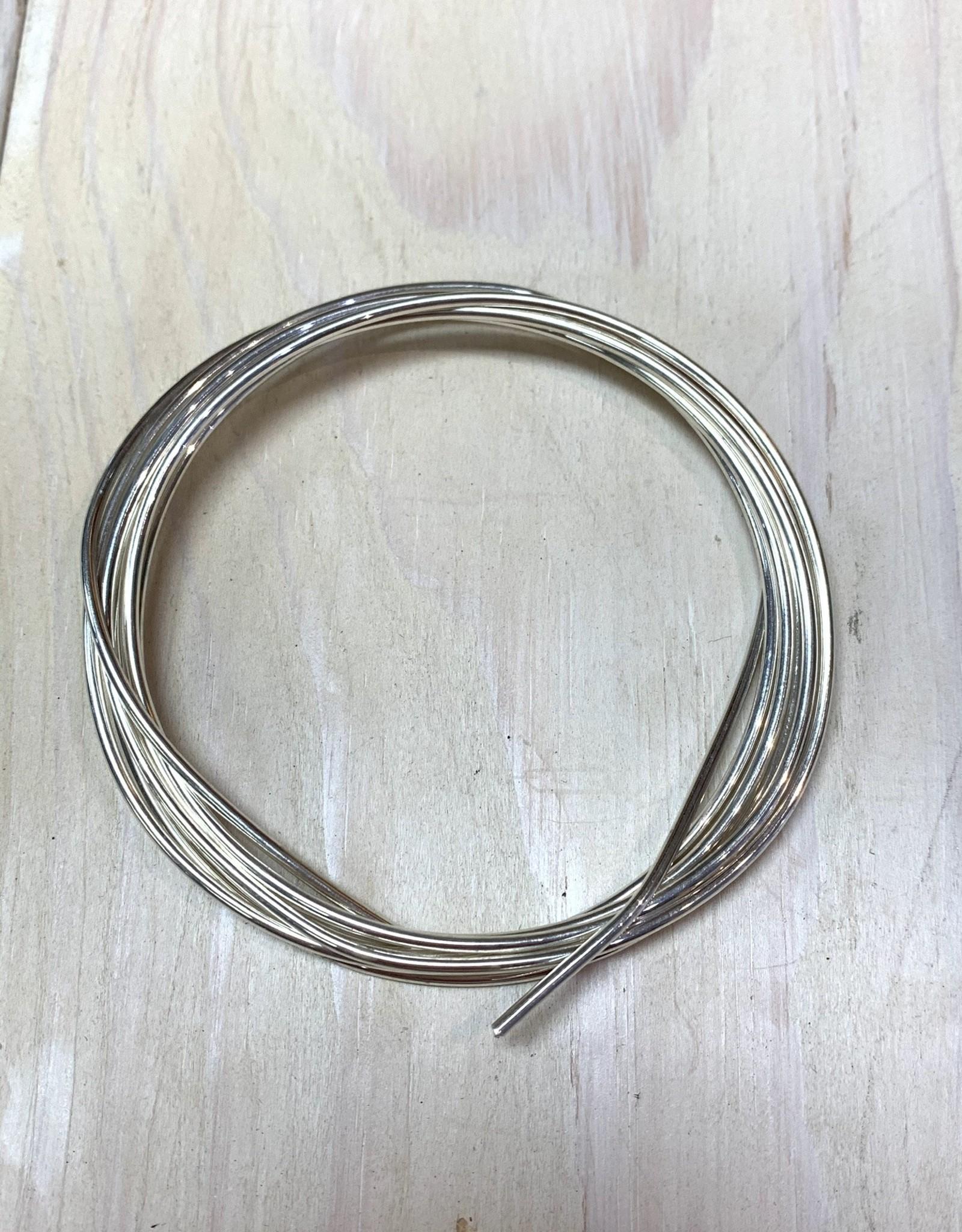 14ga Round Wire Sterling Silver 1oz DS