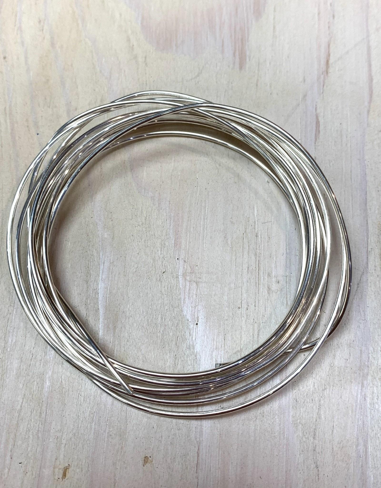 16ga Round Wire Sterling Silver 1oz DS