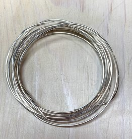 16ga Round Wire Sterling Silver 1oz DS
