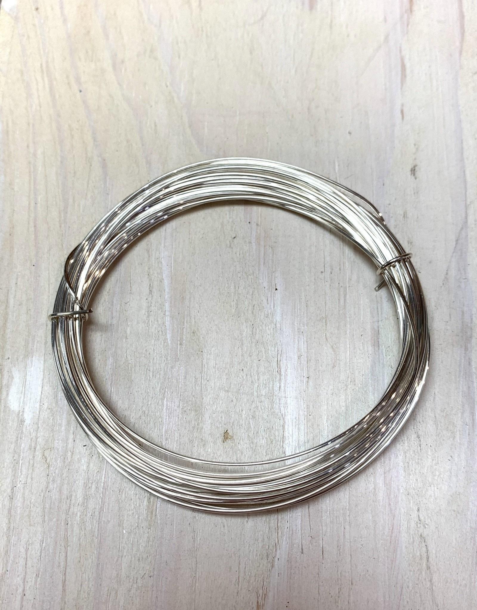 20ga Round Wire Sterling Silver 1oz HH