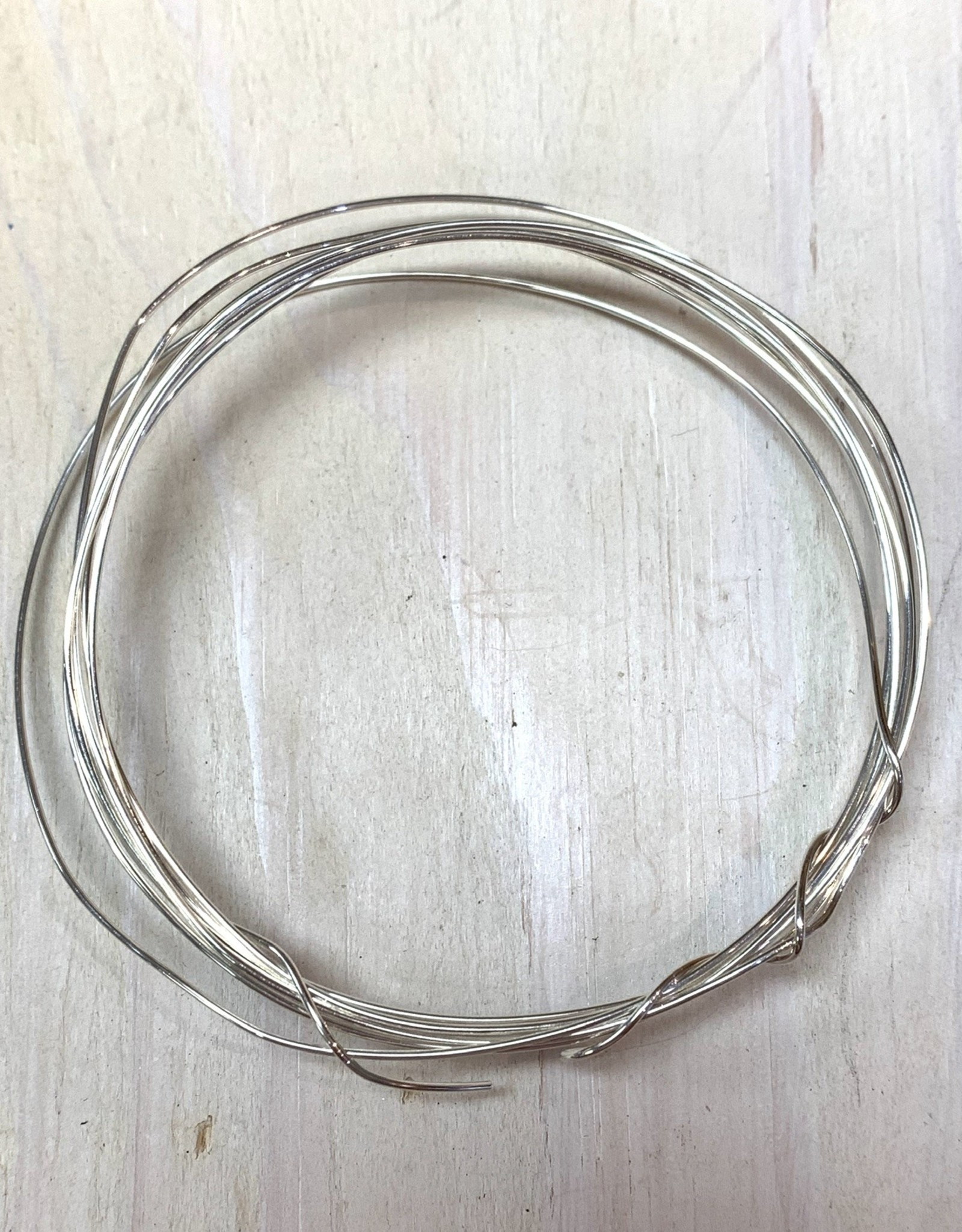 20ga Round Wire Sterling Silver 5ft