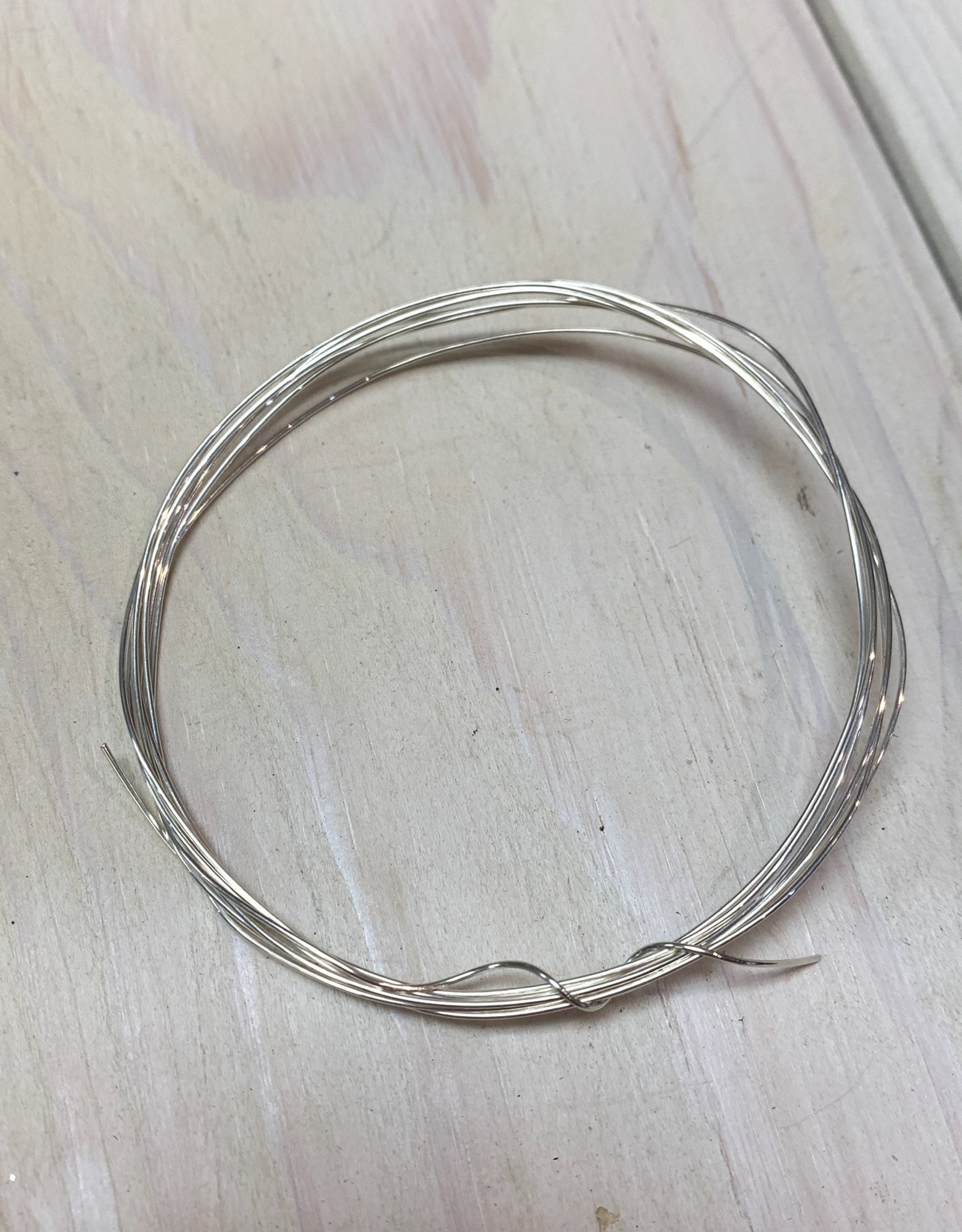 22ga Round Wire Sterling Silver 5ft