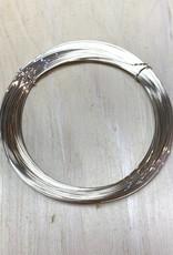 24ga Round Wire Sterling Silver 1oz DS