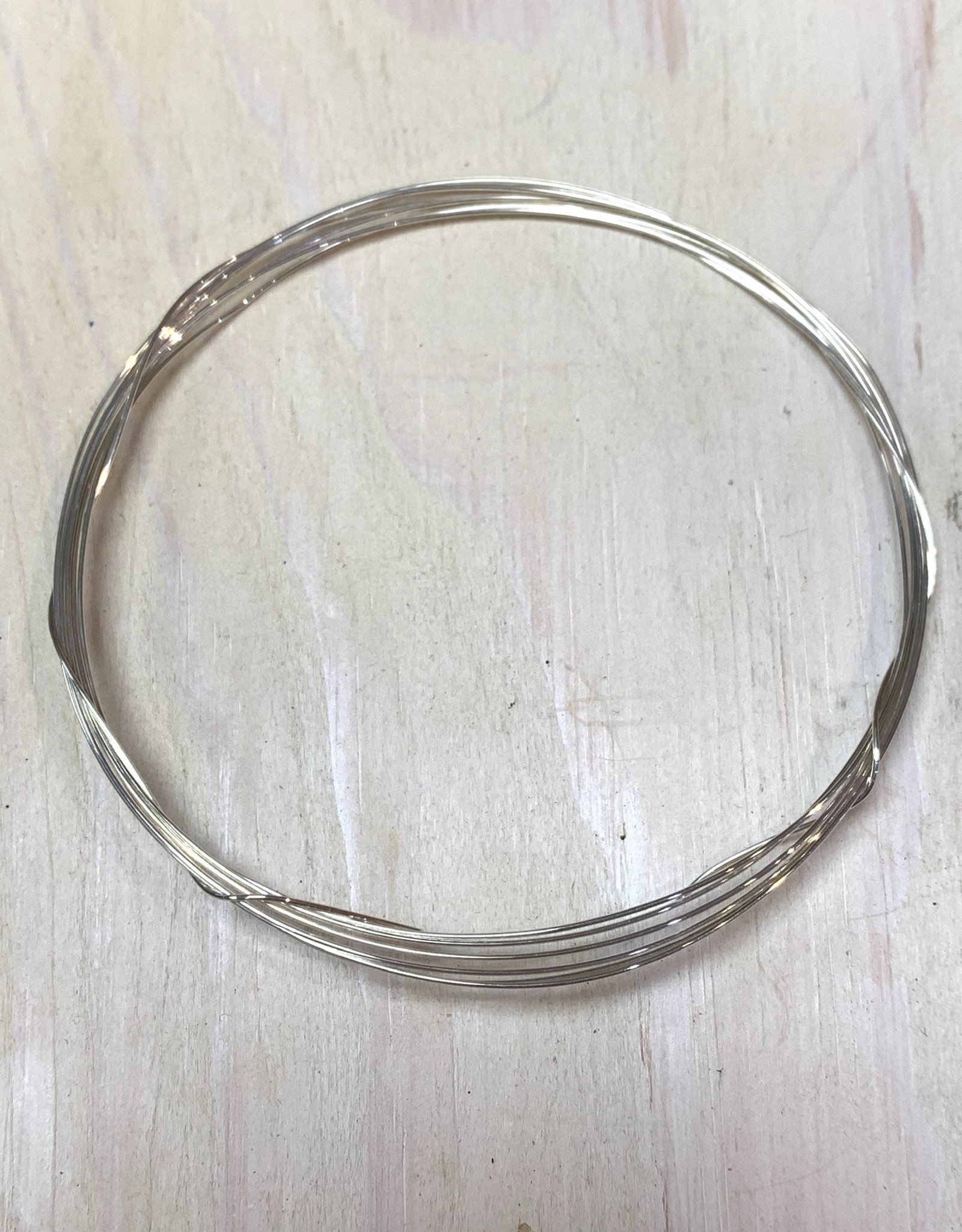 24ga Round Wire Sterling Silver 5ft