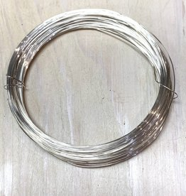 26ga Round Wire Sterling Silver 1oz DS