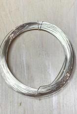 28ga Round Wire Sterling Silver 1oz DS