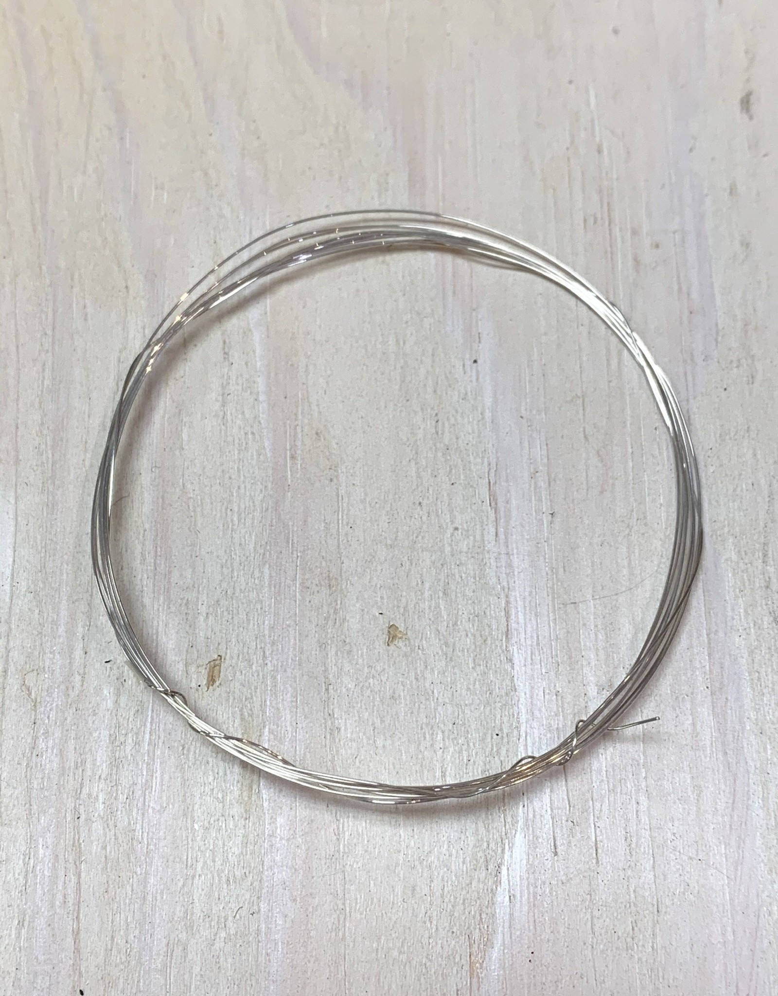 28ga Round Wire Sterling Silver 5ft