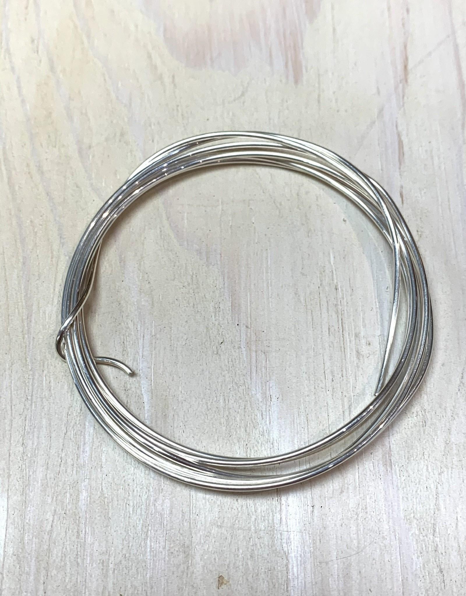 16ga Round Wire Sterling Silver 1/2oz DS