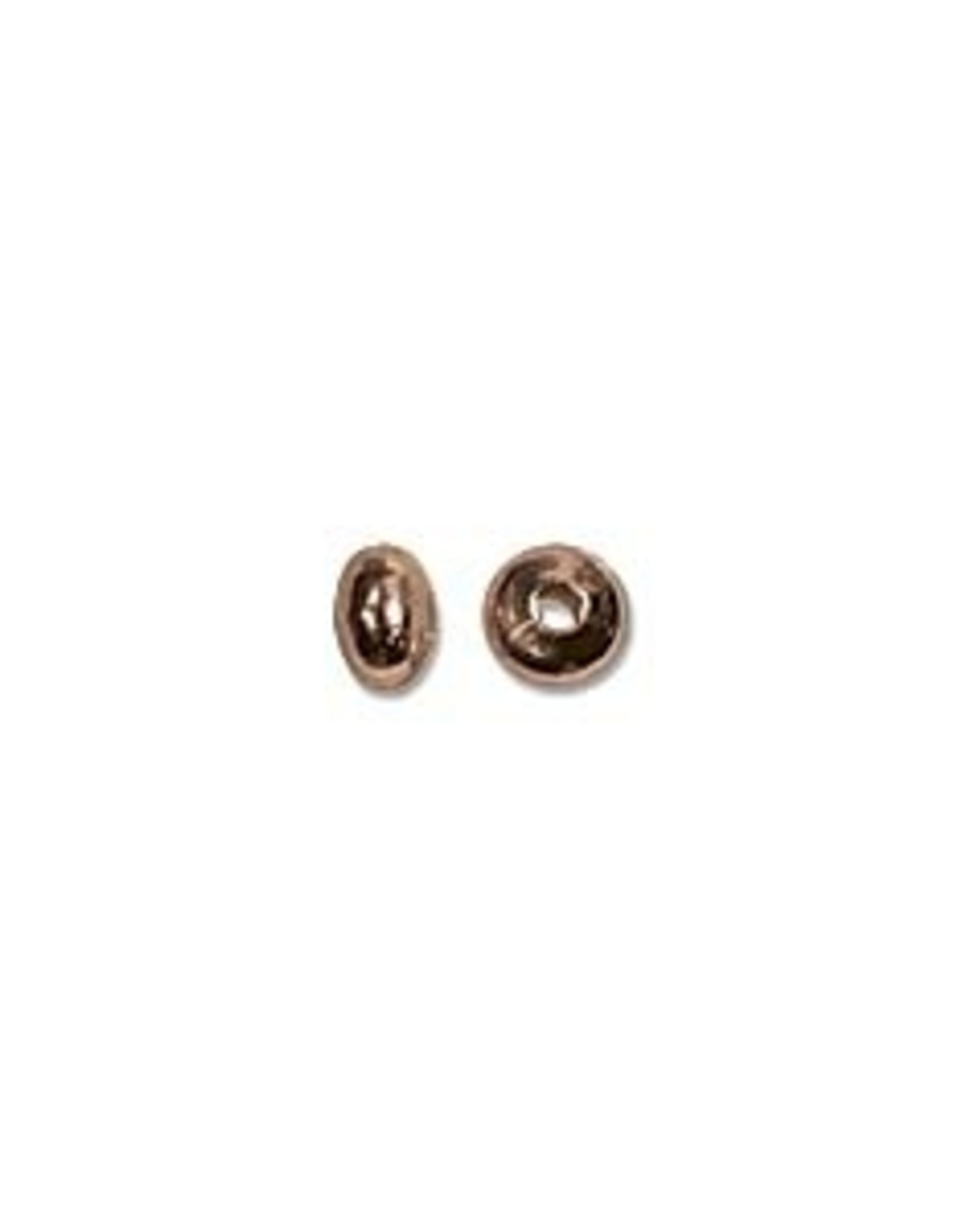 3x2mm Roundels Copper Plate Qty 144
