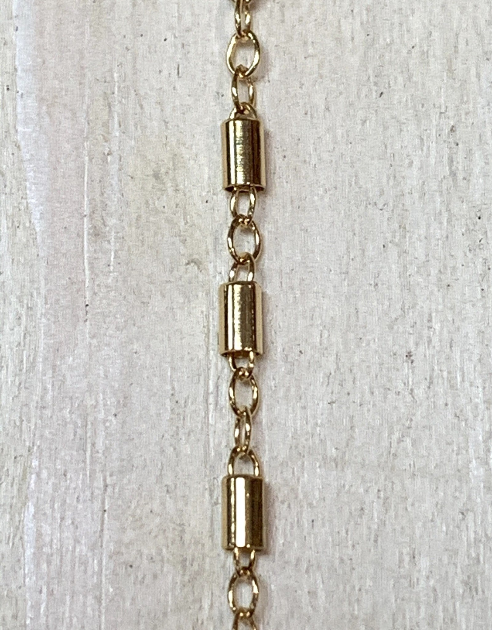 3mm Tube Link Chain 14k Gold Filled Inch