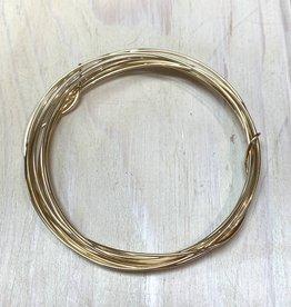 18ga Round Wire 14k Gold Filled DS 1/2oz