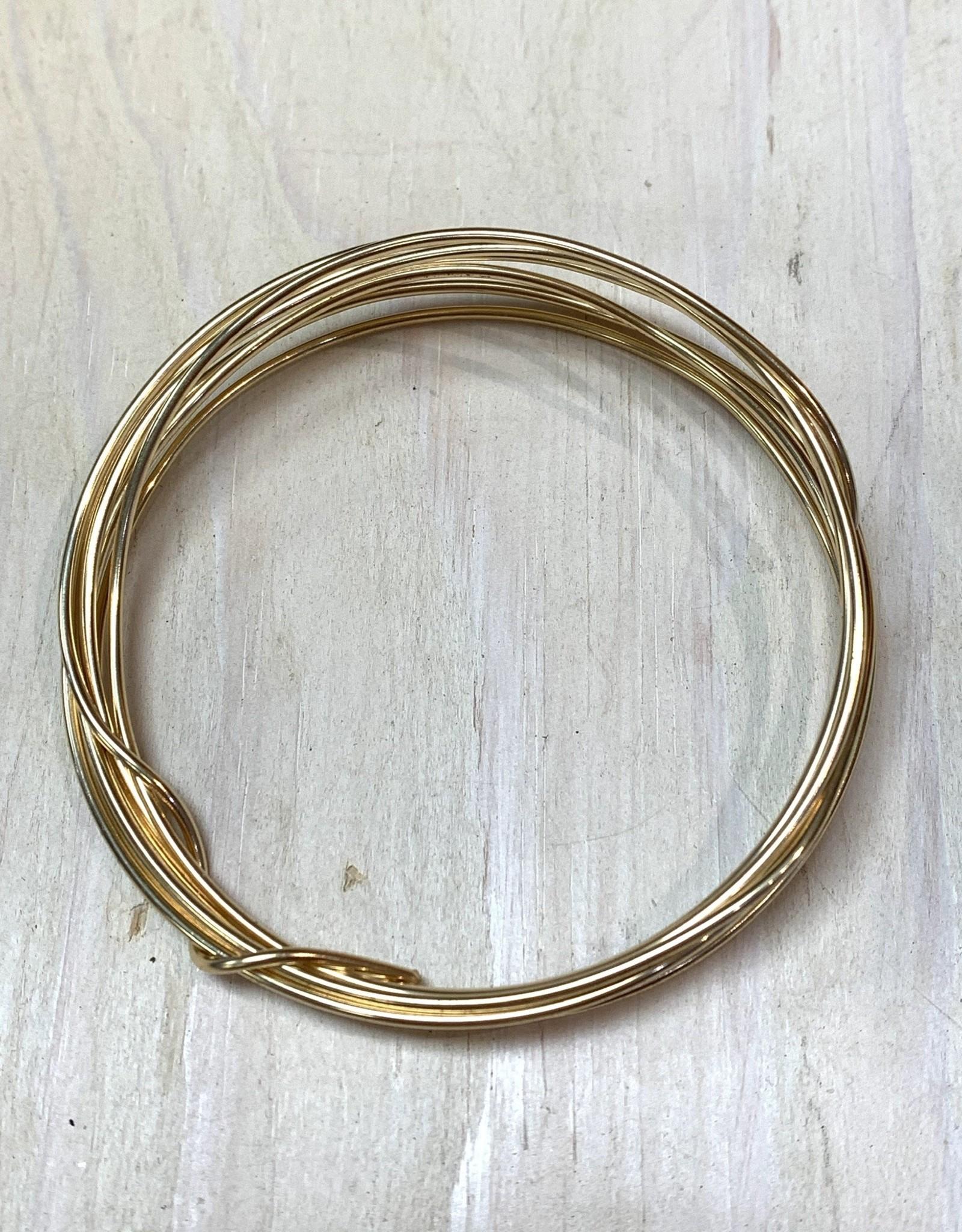 18ga Round Wire 14k Gold Filled HH 1oz