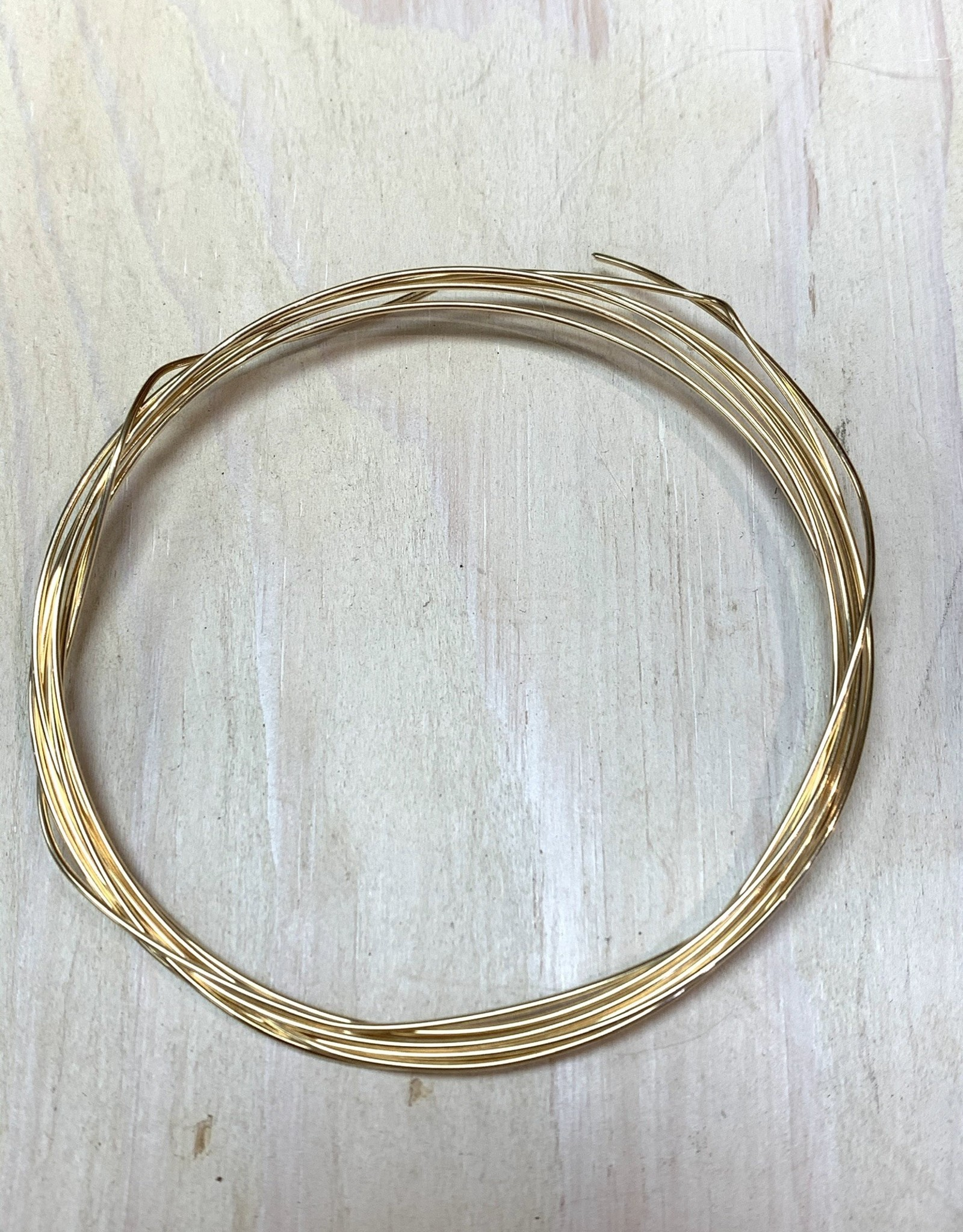 18ga Round Wire 14k Gold Filled HH 1/2oz