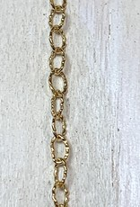 2.1mm Knurled Chain 14k Gold Filled Inch