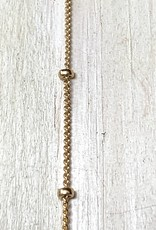 1mm Satellite Chain w/1.9mm Ball 14k Gold Filled Inch