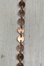 4mm Connector Chain 14k Rose Gold Filled Inch