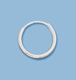 12mm Endless Hoop Sterling Silver Pair
