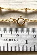 "30"" Satellite Chain 1mm 14K Gold Filled NL"