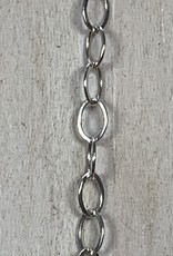 3x2mm Flat Cable Sterling Silver Inch