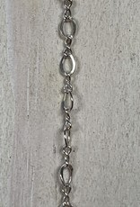 2.1mm Figure 8 Sterling Silver Chain Inch