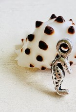 13mm Tiny SeaHorse Silver Plated