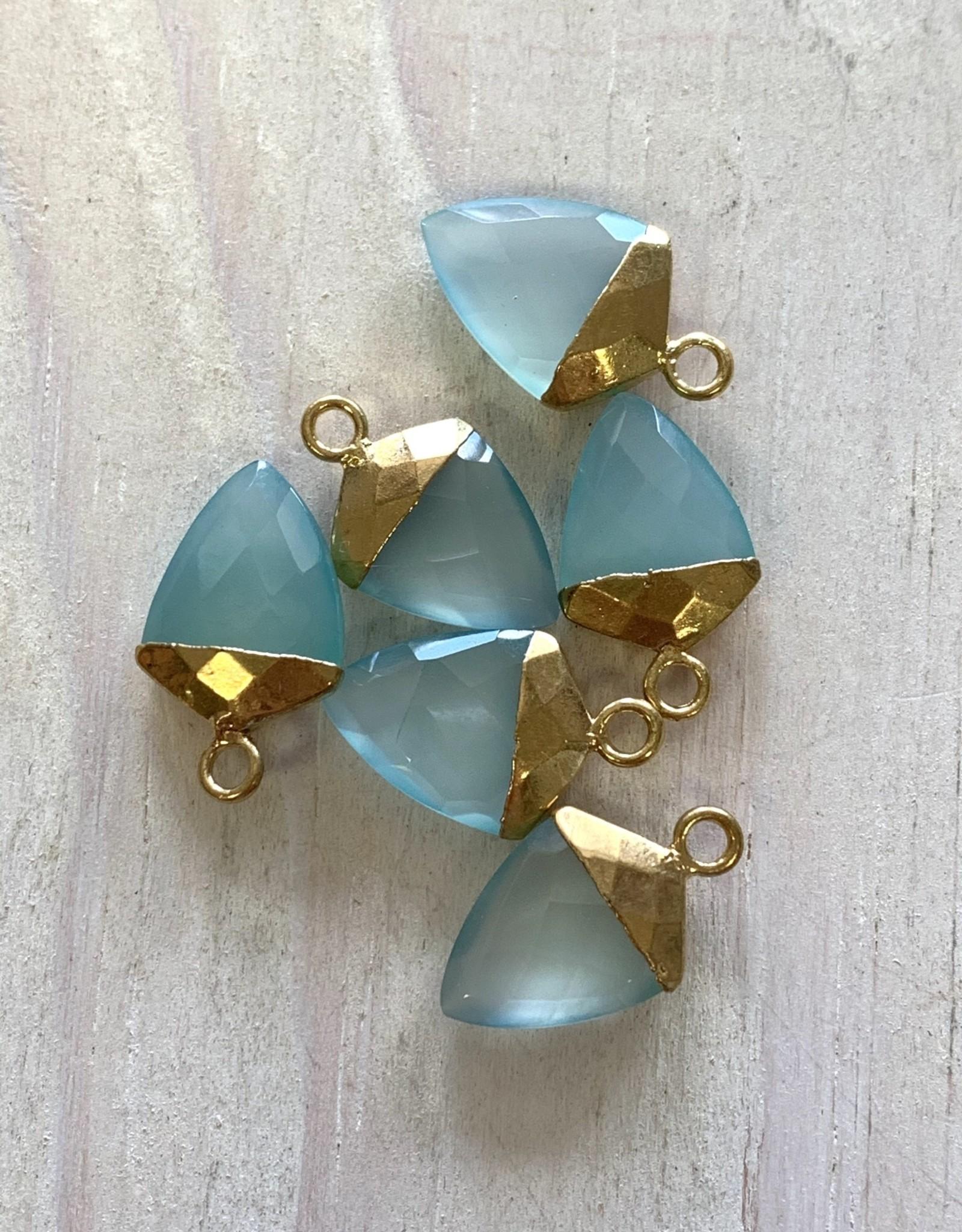 Chalcedony Arrow Gold
