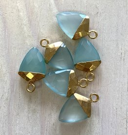 Chalcedony Arrow Gold