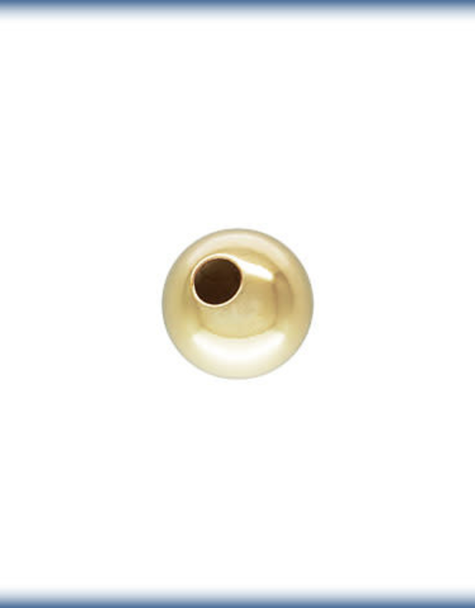 5mm Round Bead 14k Gold Filled Qty 6