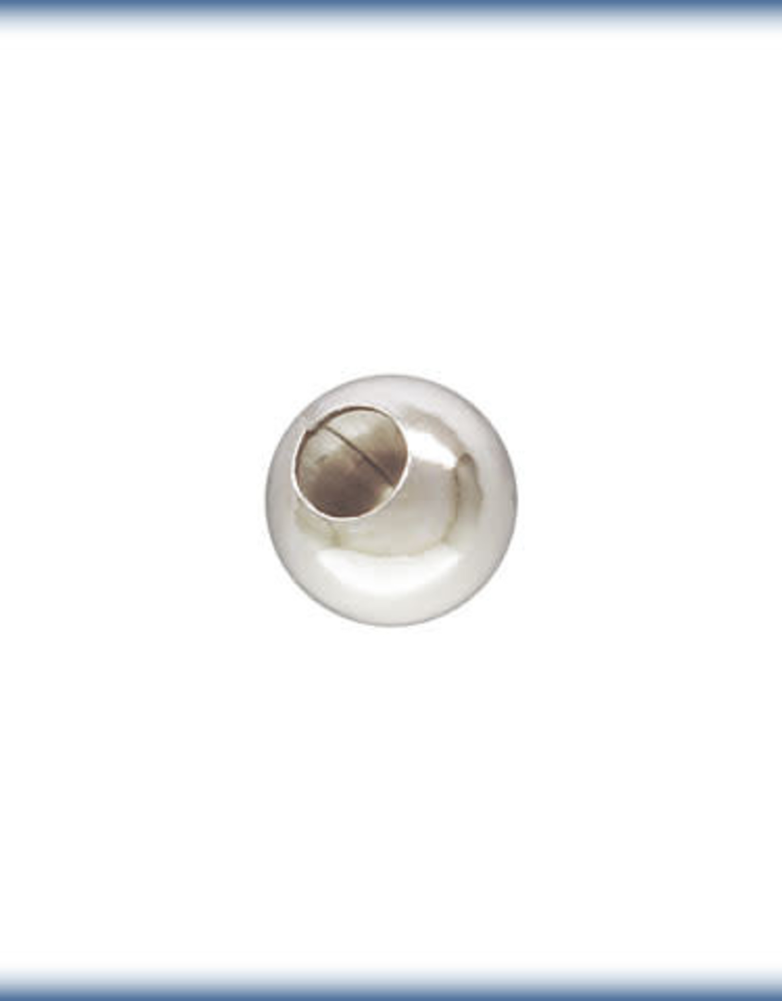 4mm Round Bead Sterling Silver Qty 12