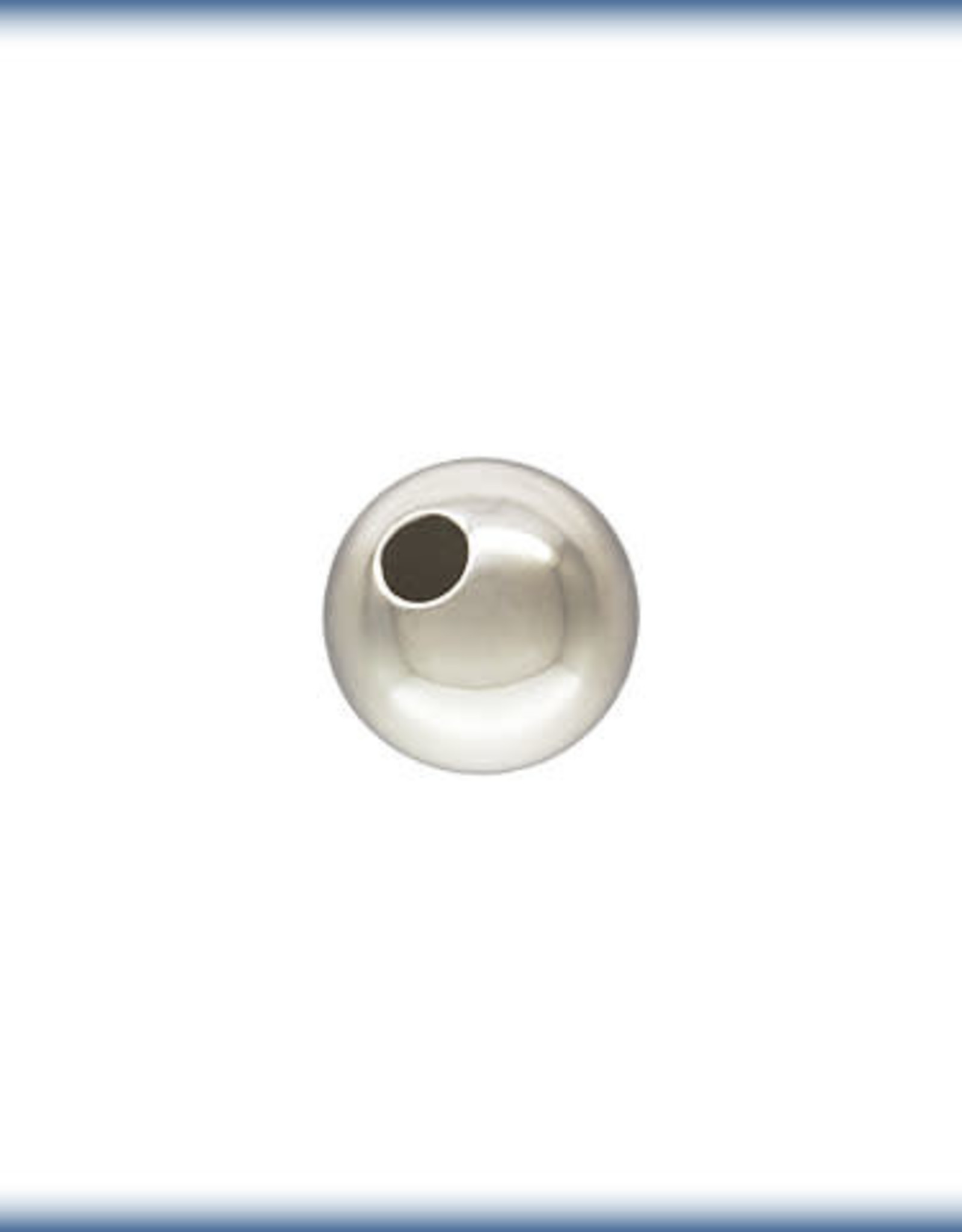 5mm Round Bead Sterling Silver Qty 10