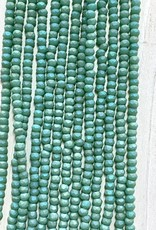 3mm Green Matte AB Gem Show Crystal Roundel Strand