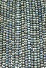 3mm Sage Green Matte AB Gem Show Crystal Roundel Strand