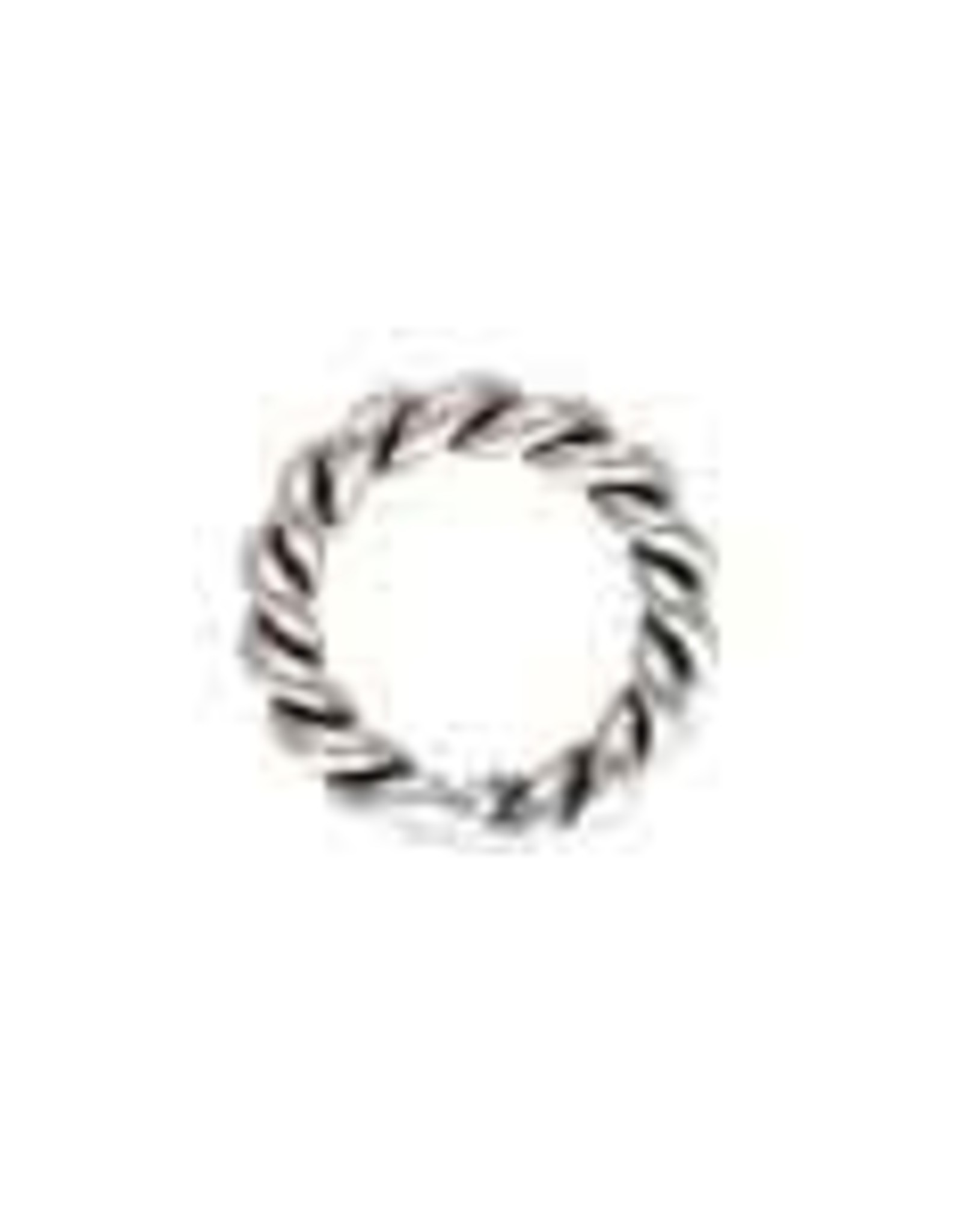 4mm Twst Closed Ring Sterling Silver Qty 12