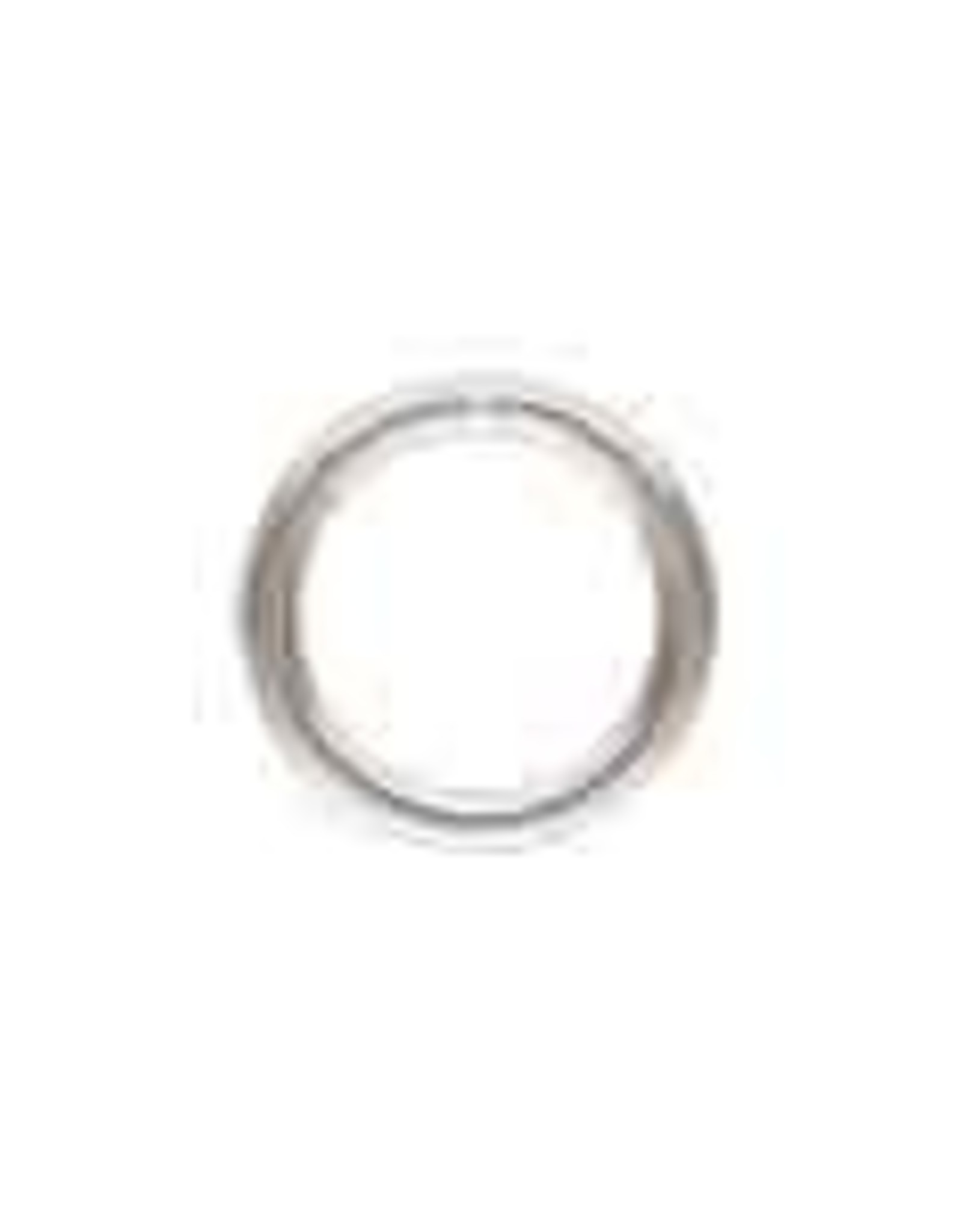 6mm Closed Ring 20ga Sterling Silver Qty 10