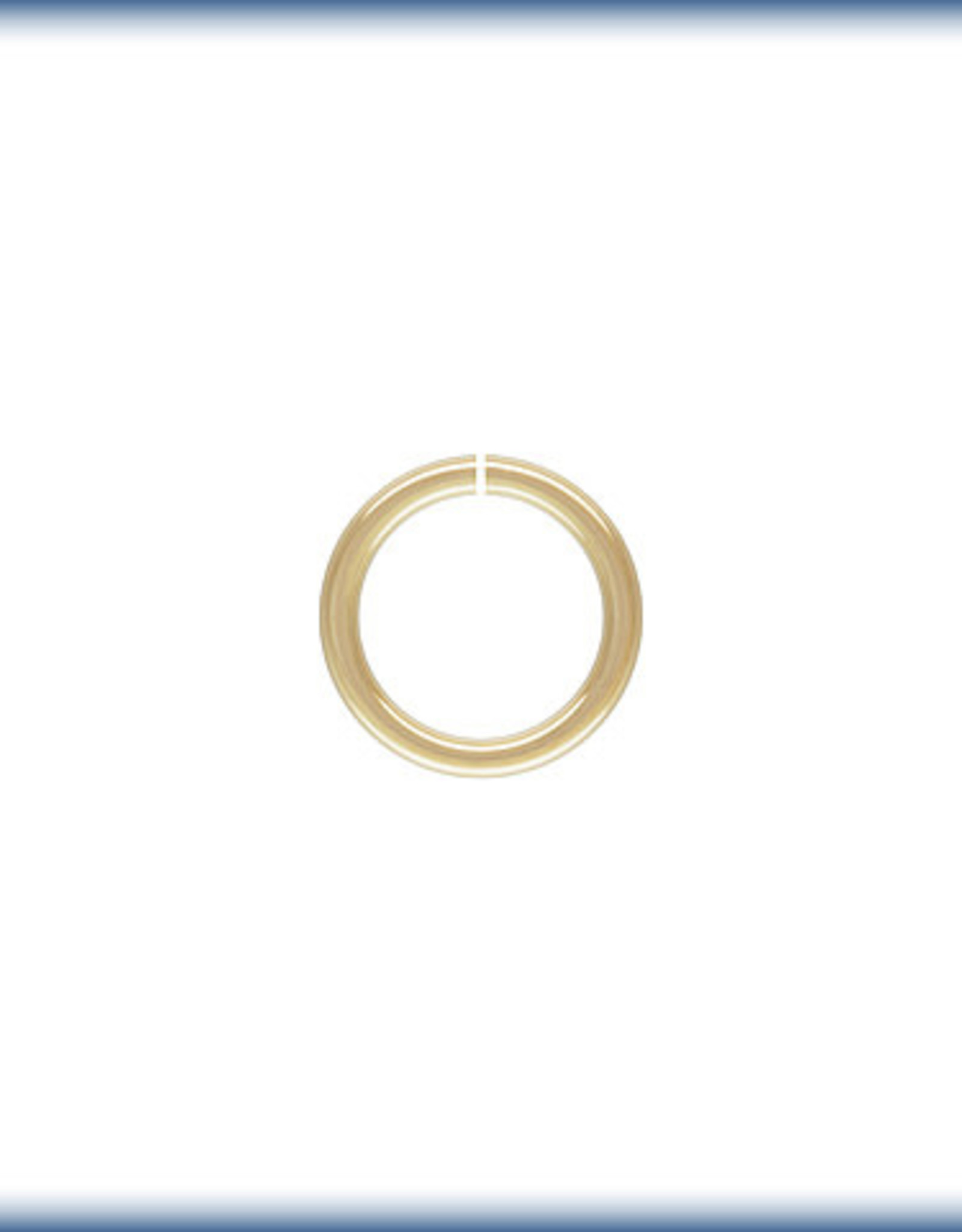5mm Jump Ring 22ga 14k Gold Filled Qty 10