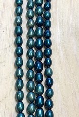 Rice Pearls Mix Teals Strand