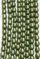 Rice Pearls Saige Green Strand