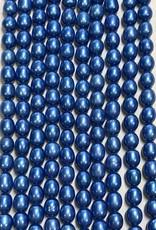 Rice Pearls Perri Blue Strand