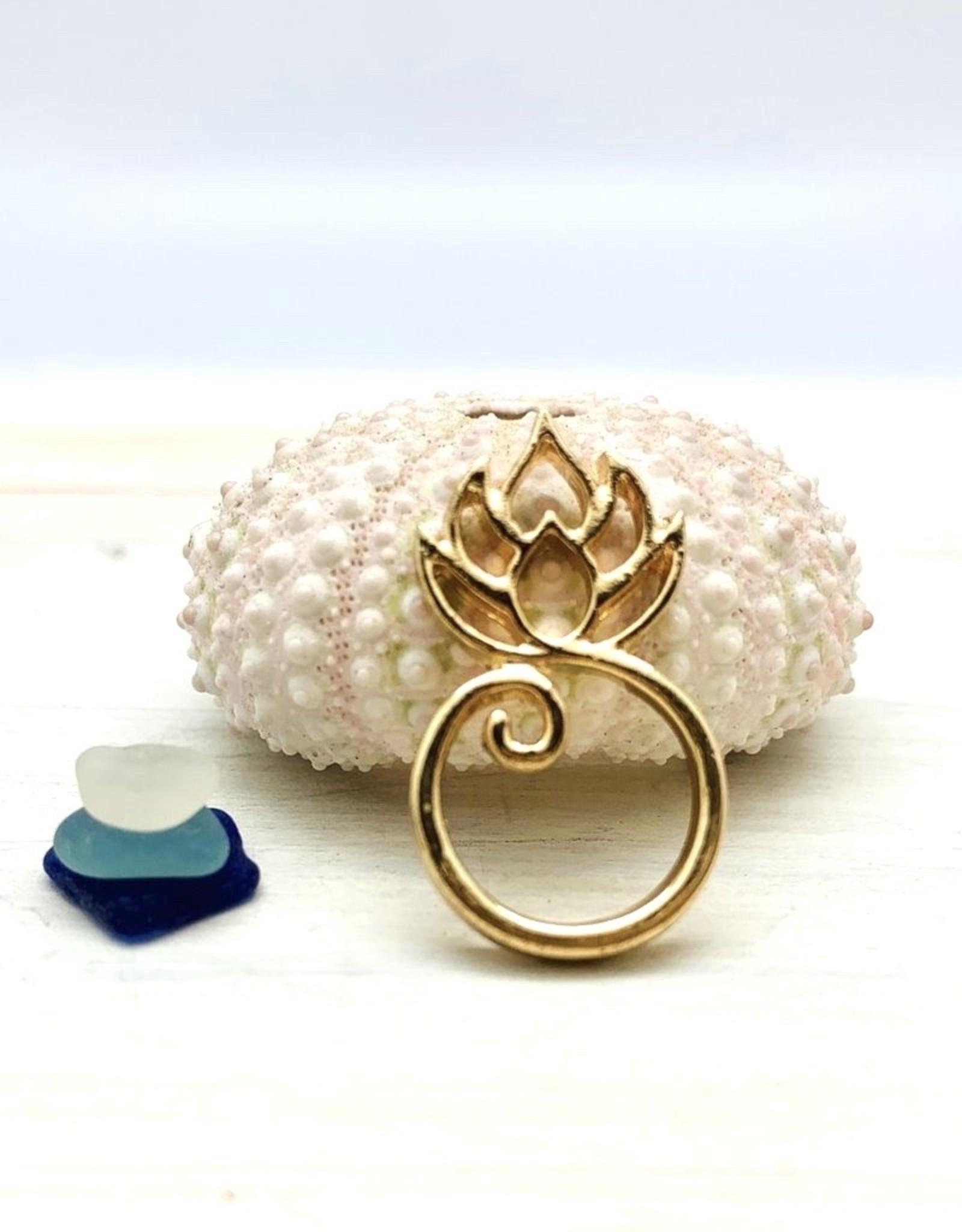 Lotus Charm Holder
