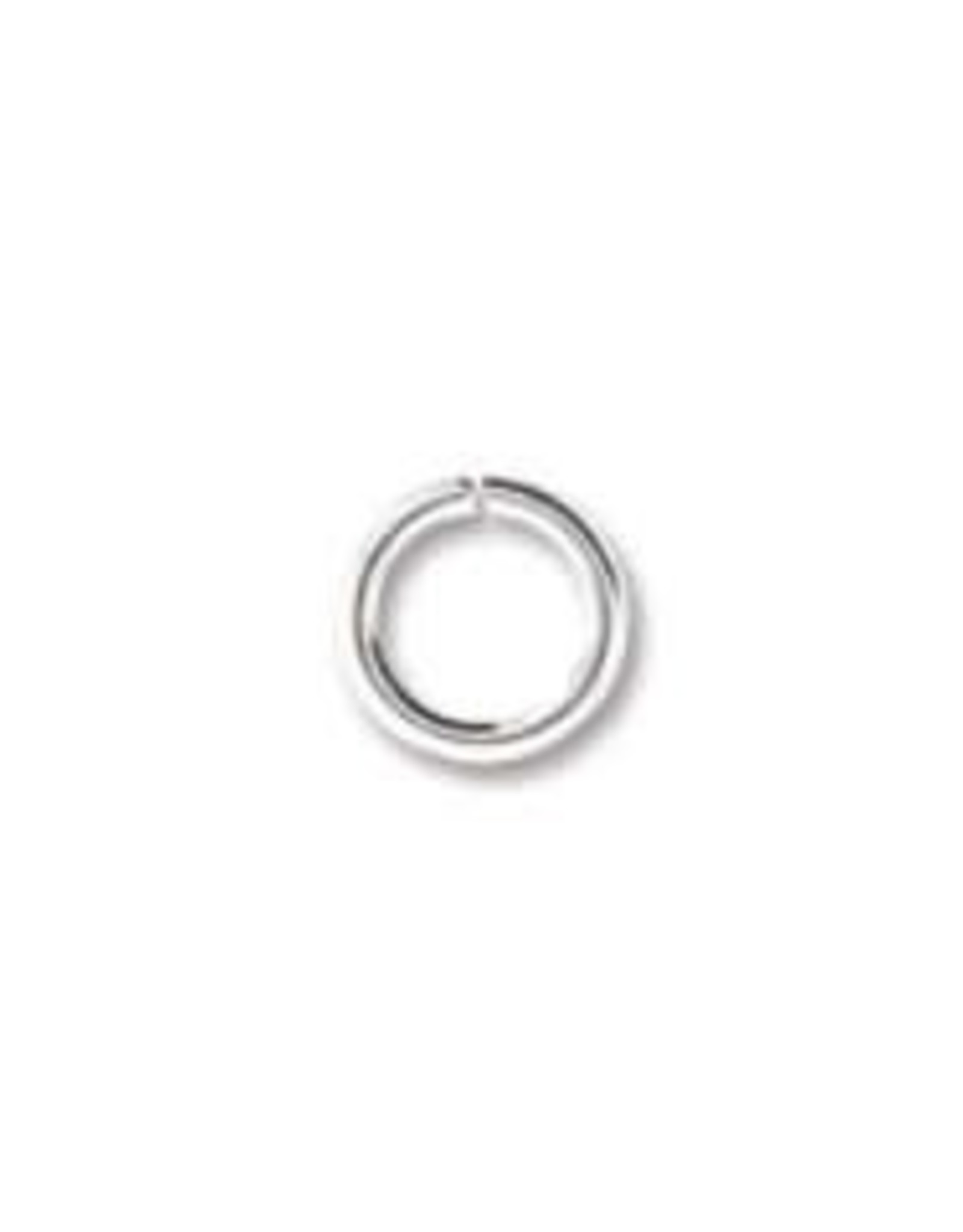 6mm Jump Ring Silver Plated Qty 24
